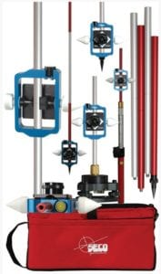 26. Sliding Prism and Sectional Metric Pole Kit