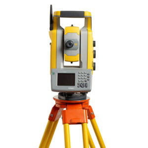 Hired Trimble total station